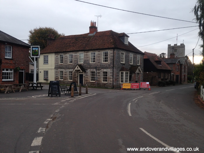 St Mary Bourne Main Through Road Finally Opens Tomorrow