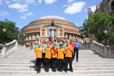 400 Hampshire Children Raise the Roof of the Royal Albert Hall