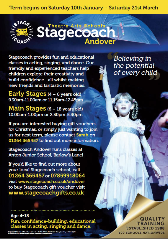 Building Confidence through singing, Acting and Dance Classes with Stagecoach