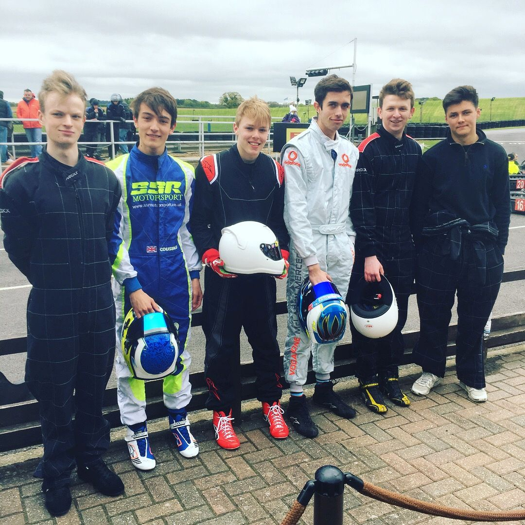 Education News | Symonds Karters get to National Final of British Schools Karting Championships | Andover & Villages