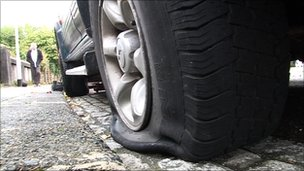 Colenzo Drive Residents Victims of Tyre Slashing