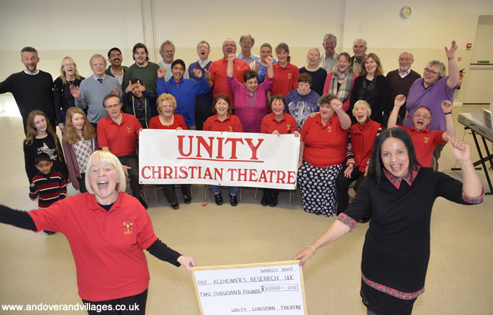 Local News | Unity Christian Theatre Fundraises for Alzheimers Research