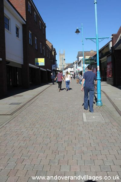 Local News | Andover's Upper High Street Gets a Facelift