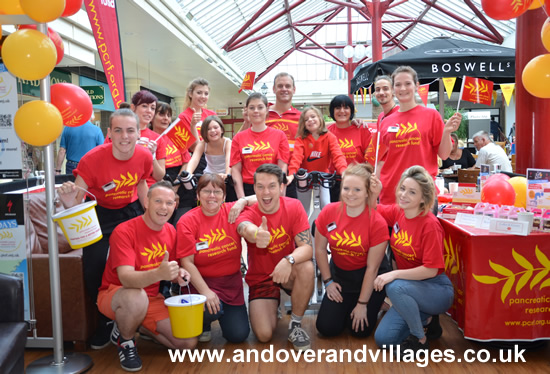 Andover News - Boswells Spin for Pancreatic Cancer Research