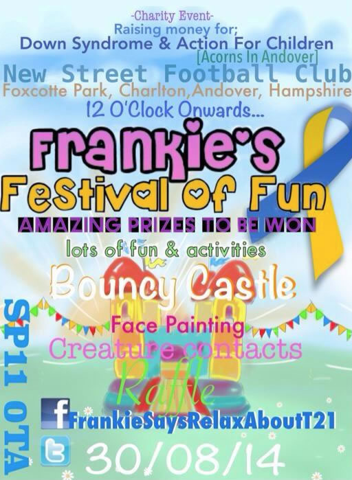Andover What's On Guide - Frankie's Festival Of Fun 2014