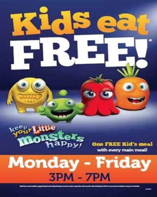 Andover What's On Guide - Kids Eat Free at The Chalkhill Blue