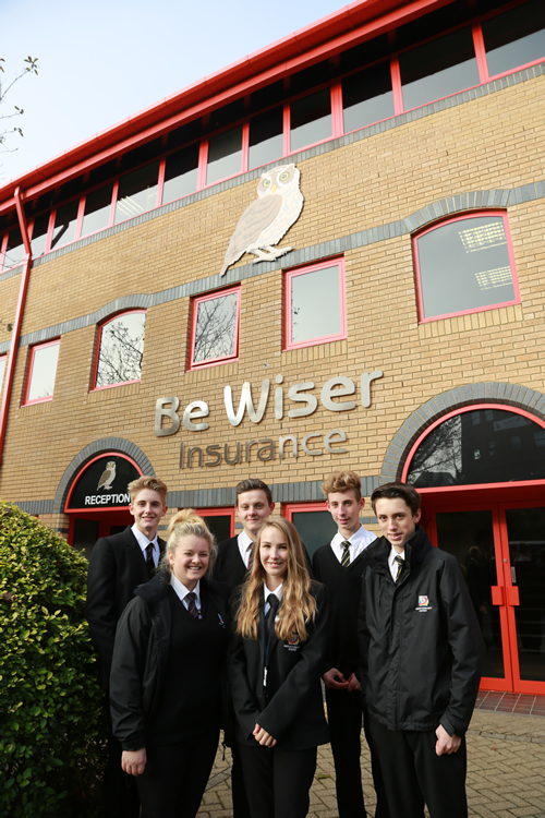 Winton Community Academy Students Experience the Business World