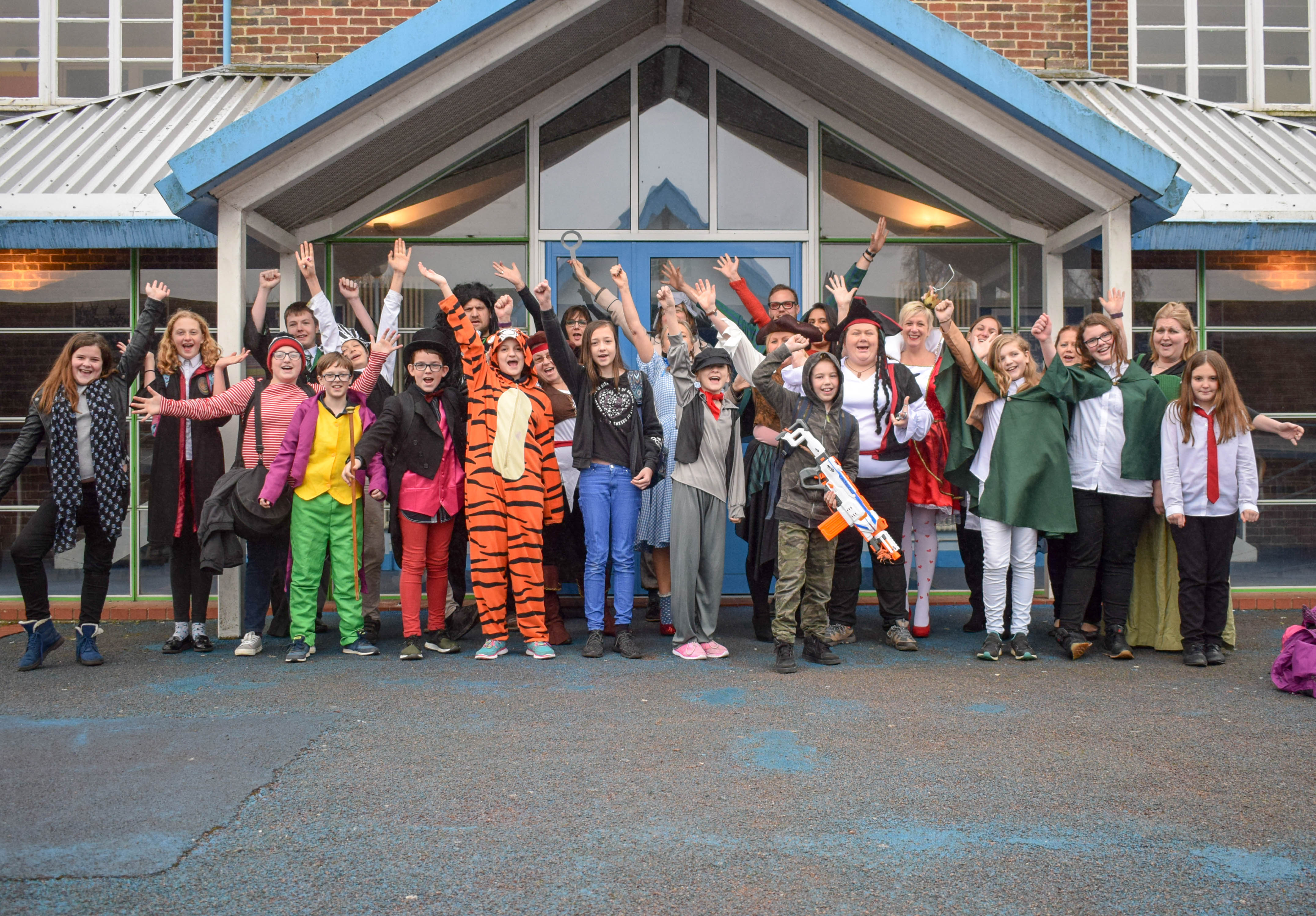 Education News | World Book Day at Winton | Andover & Villages