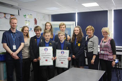Cubes in Space Competition Won By Testbourne School