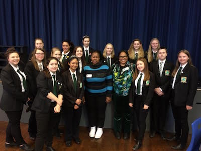 Harrow Way Welcomes Nelson Mandela's Niece, Pumeza Mandela