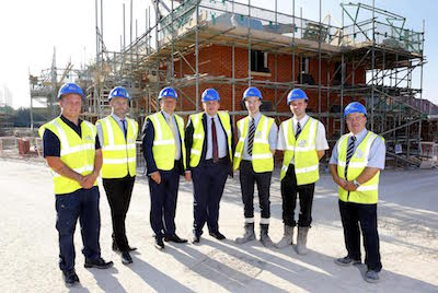 Kit Malthouse MP takes tour of Andover development
