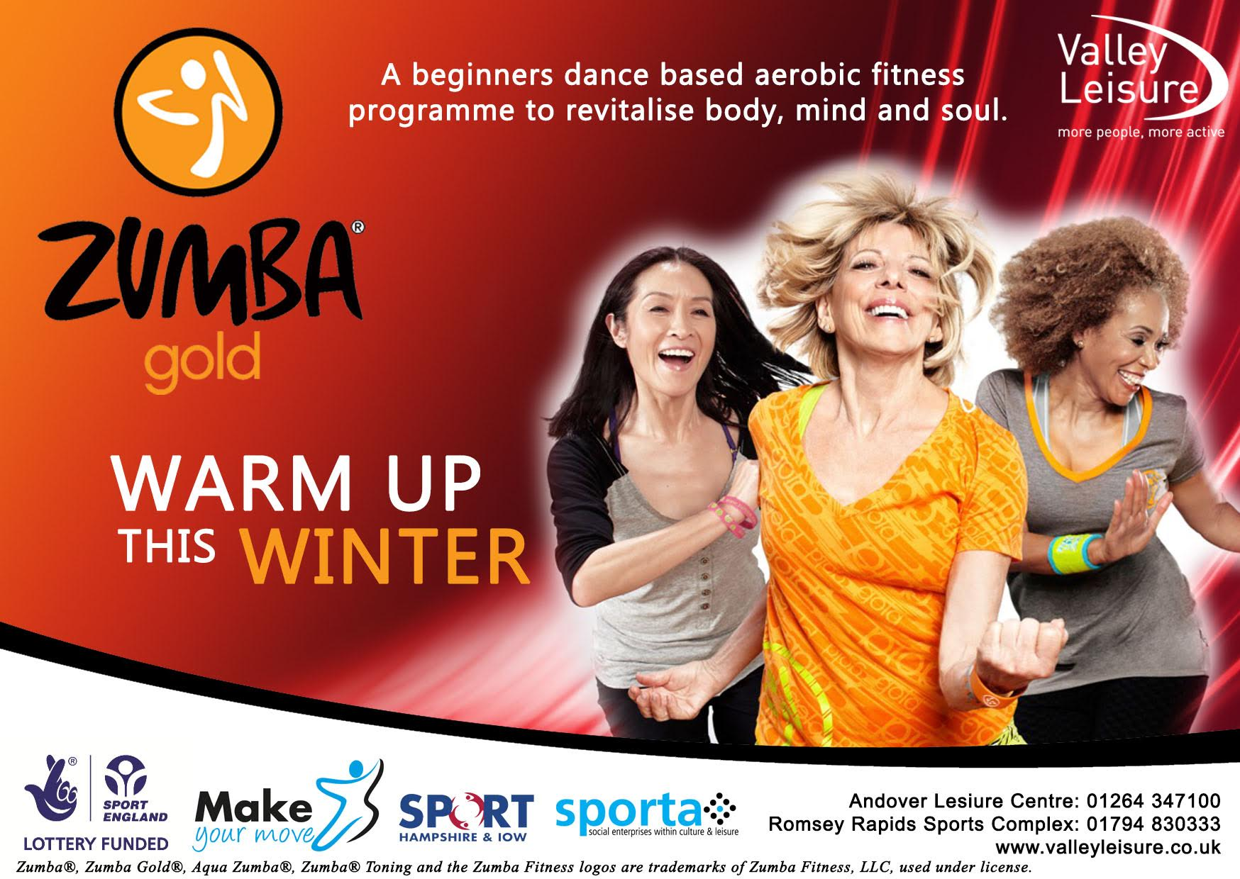 Sign Up For Free at Zumba® For The Golden Years