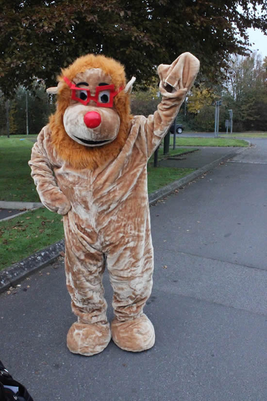 Anodver carnival Mascot Lion - Andover Carnival chooses their 2014 charities