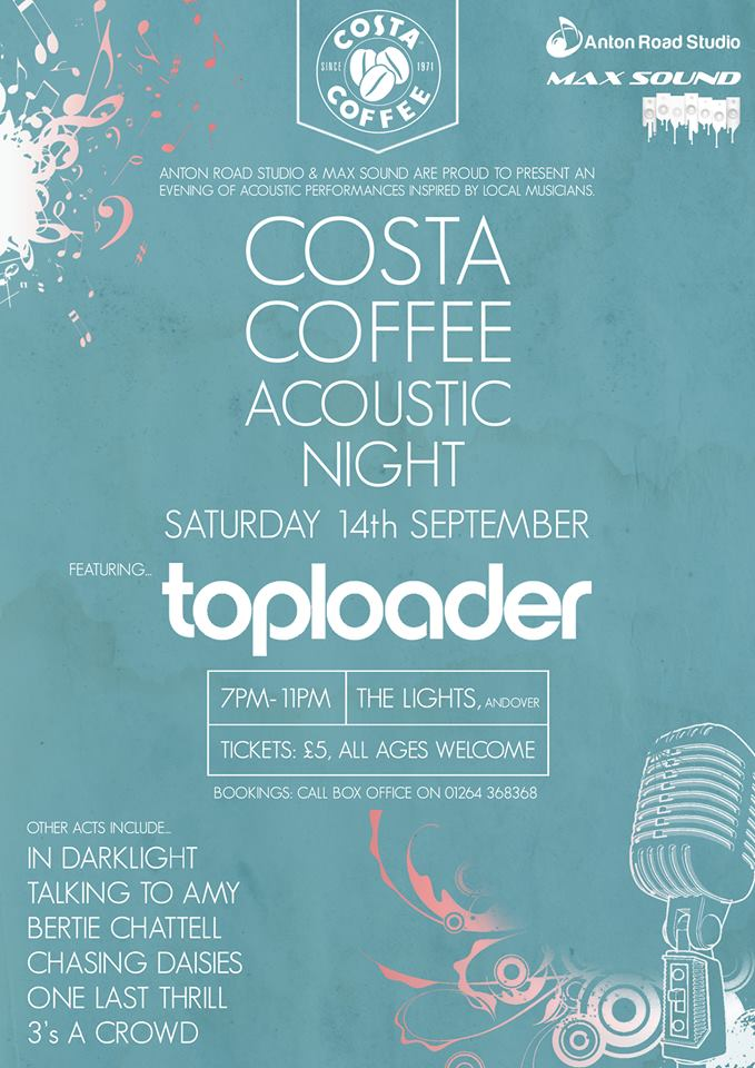 Costa Acoustic Nights in Andover at The Lights