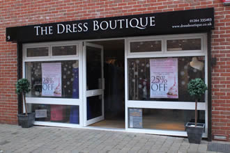 The Dress Boutique in Andover Town Centre Celebrates One year of trading in Waterloo Court
