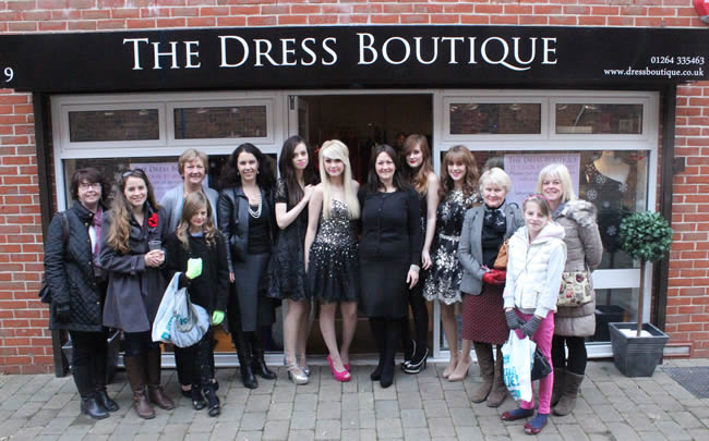 The Dress Boutique in Andover Town Centre Celebrates One Year Trading in Waterloo Court