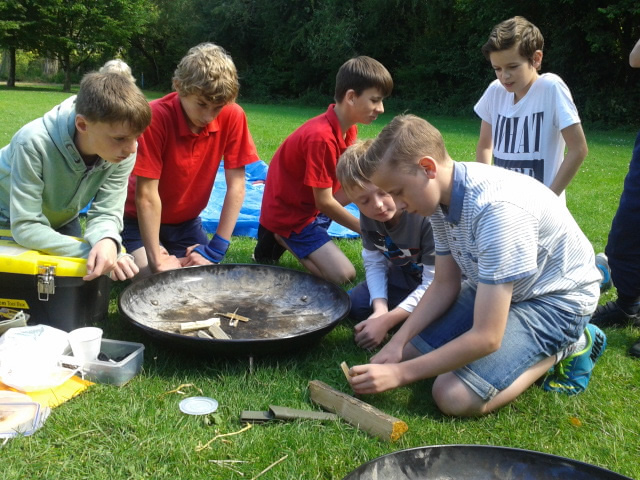 Andover School News - Harrow Way Students All Set to be the Next Bear Grylls