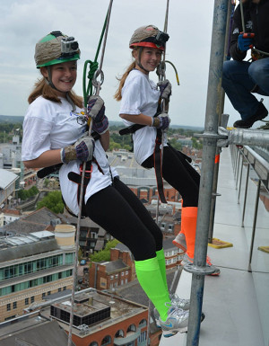 Harrow Way Student Abseils Down Reading's Tallest Building The Blade