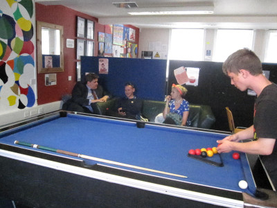 Kit Malthouse Visits Andover Youth Project