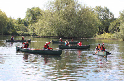 Andover Schoolchildren do Some Outdoor Exploring