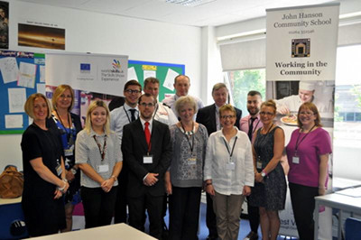 Local Companies Support Interview Skills Day at John Hanson School