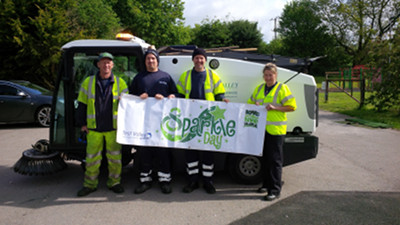 Five Tonnes of Rubbish Cleared on Sparkle Day