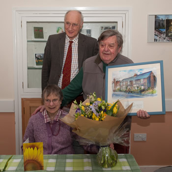 Local News | Sir George Wishes Chairman of Kingsclere Village Club Farewell