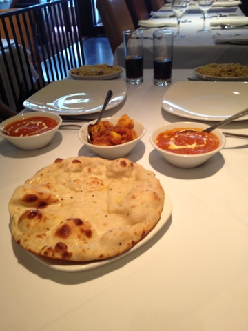Great food at The Mumbai Thai in Andover - Naan Bread