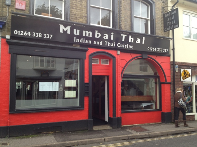 Great food at The Mumbai Thai in Andover