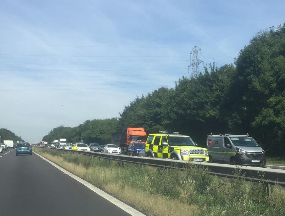 one lane closed following rtc on m3