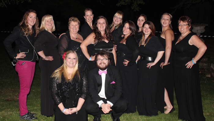 Military Wives at penton proms