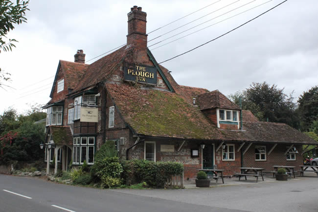 Lady Does Lunch at The Plough Inn Longparish Near Andover