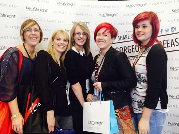 Andover's Salon 73 attended Salon International in London