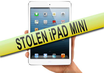 Andover news - Ipad Mini Stolen from Van