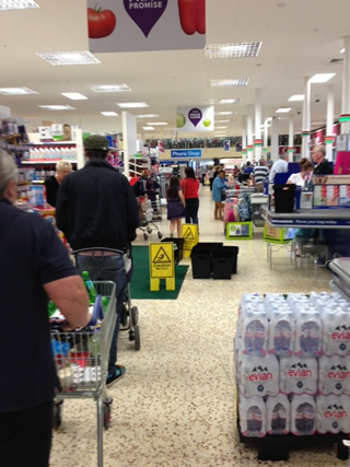 Tesco Andover River Way - Water Leaks and Terrible Customer Service