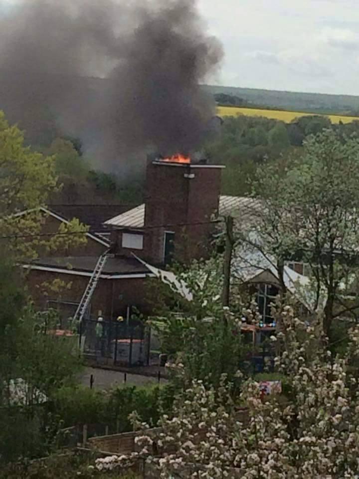 Local News | Test Valley School on Fire