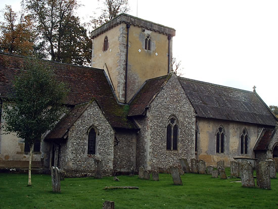 Amport Church Nr Andover Hampshire