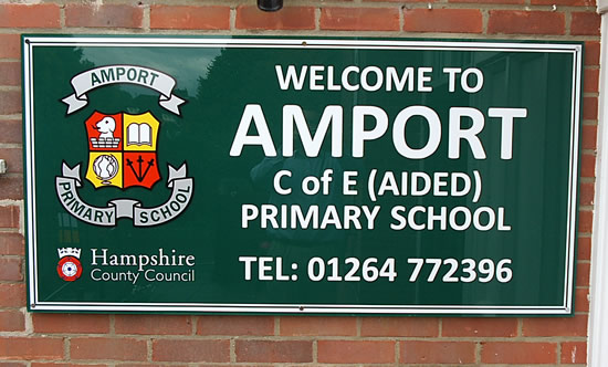 Amport Primary School Nr Andover Hampshire