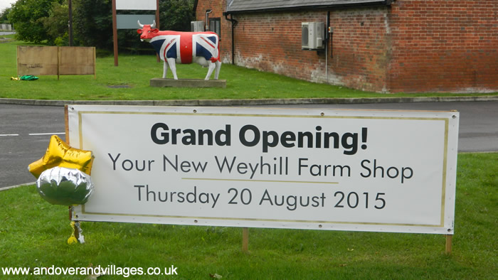 Hundreds Attend Weyhill Farm Shop Reopening