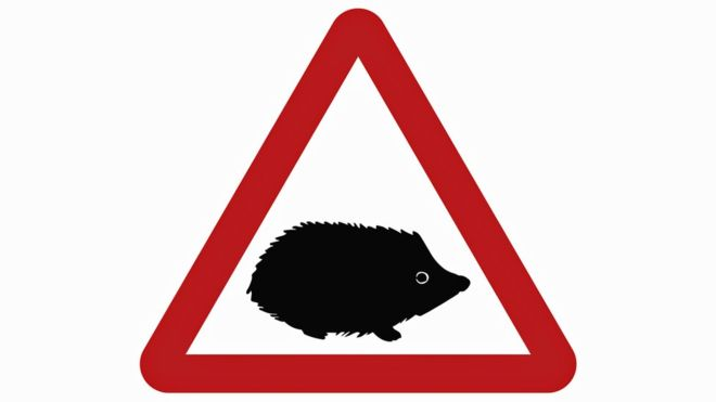 Hedgehog sign becomes an 'officially' recognised road-sign