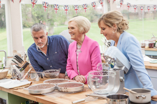 Cook up a cake for The Great British Bake Off
