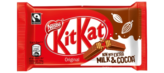 Romsey Food | KitKat adds extra milk and extra cocoa in drive to reduce sugar