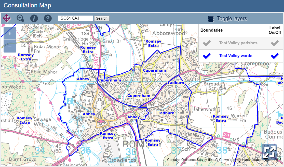 Local Romsey News | Last call for views on council ward boundaries | Andover & Villages