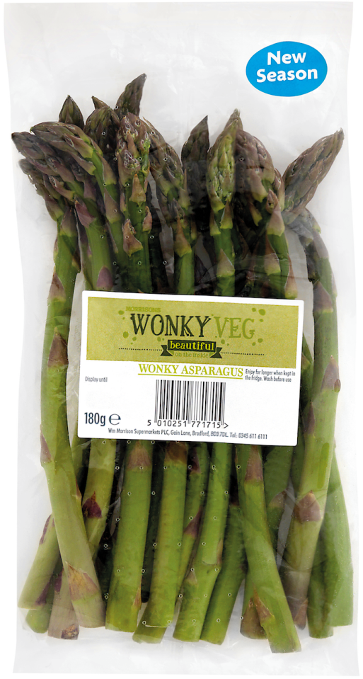 Romsey Good Food | Morrisons Add Asparagus To Wonky Veg Range | Romsey & Villages