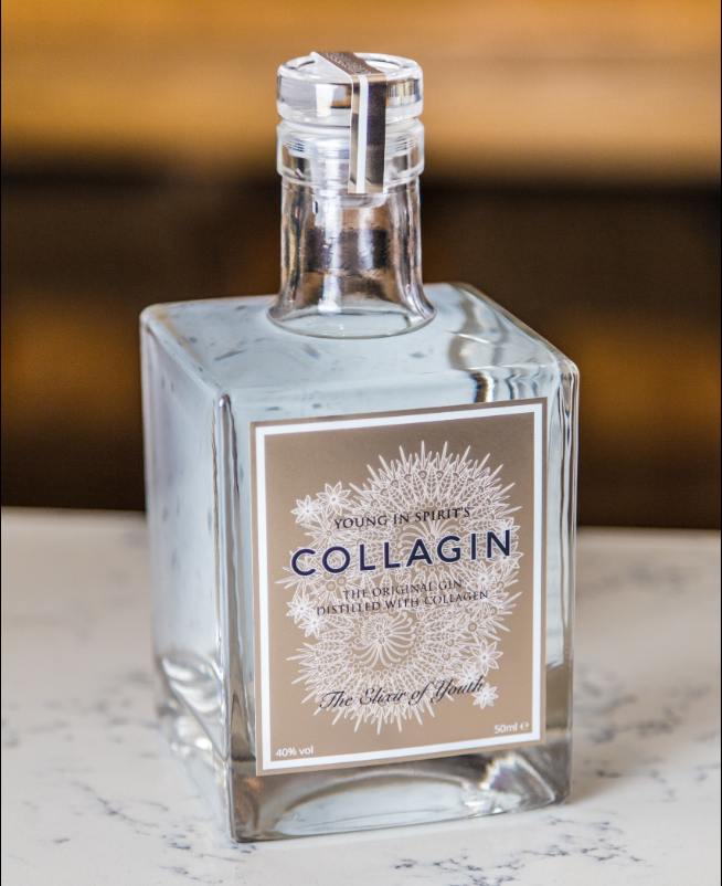 Andover Health News | Anti-ageing gin, anyone? Collagen infused gin is here | Andover & Villages