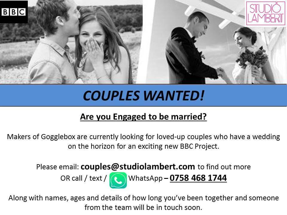 Andover News | Engaged Couples Wanted For New BBC Project | Romsey & Villages