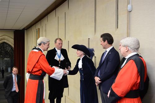 The Hon. Mary Montagu-Scott Begins Year As High Sheriff Of Hamphire