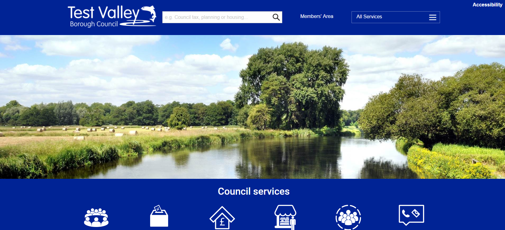 Andover Business News | New responsive website for Test Valley Borough Council | Andover & Villages