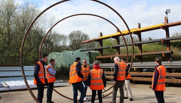 Andover Garden News   Constructing a Chelsea Flower Show Centrepiece   Romsey & Villages