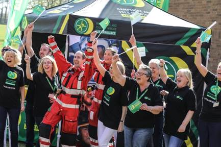 Local Andover News | Hampshire and Isle of Wight Air Ambulance plans volunteer recruitment drive during Volunteers' Week 2017. | Romsey & Villages